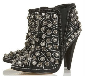 boot11 Want: An Eye Catching Pair Of Embellished Ankle Boots