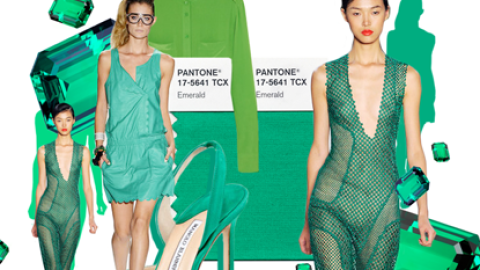 Why Emerald Green Is Pantone's New Color Of The Year | StyleCaster