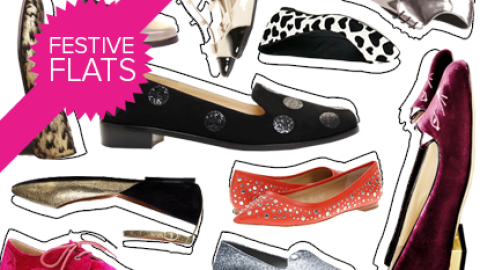 Give Your Stilettos A Run For Their Money With 20 Festive Party-Ready Flats   StyleCaster