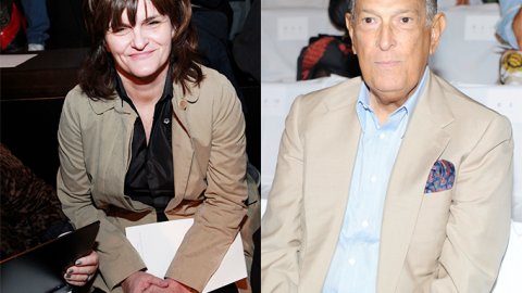 The Cat Fight's Over: Oscar de la Renta and Fashion Critic Cathy Horyn Make Amends | StyleCaster