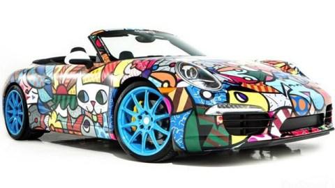 The Holiday A-List: An Artist Painted Porsche | StyleCaster
