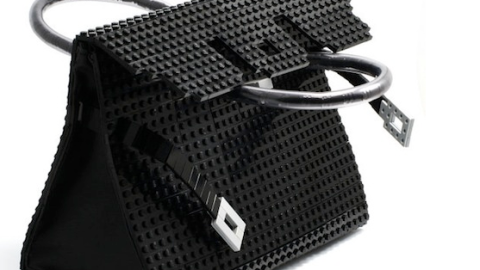 Would you Carry An Hermes Birkin Bag Replica Made Entirely Of Legos? Vote Now! | StyleCaster