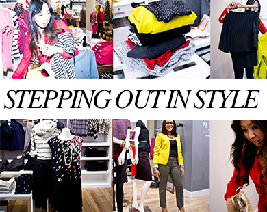 Behind the Scenes With Our 'Stepping Out In Style' Contest Winner and Featured Blogger Donna Kim