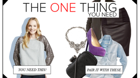 The One Thing You Need: An Embellished Sweatshirt, Plus 6 Things To Pair It With | StyleCaster