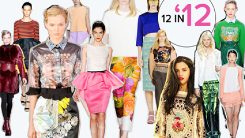 Our Top 12 Trends of 2012: And What A Stylish Year It Was | StyleCaster