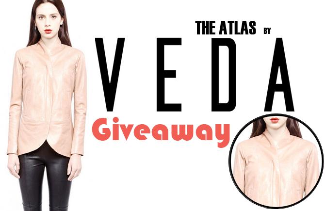 Veda Leather Jacket Giveaway