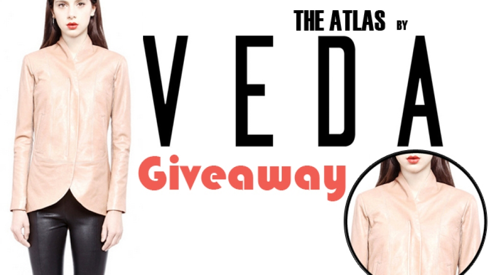 Giveaway: Enter Now To Win A Super-Stylish VEDA Leather Jacket | StyleCaster