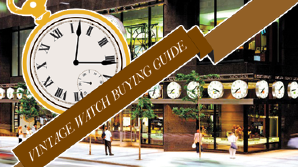 Top 10 Places To Score a Vintage Watch   StyleCaster