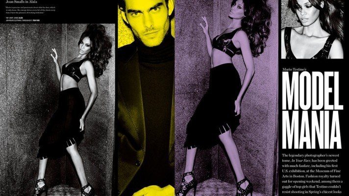 First Look: Mario Testino Shoots Karlie Kloss, Erin Wasson, More for V Magazine