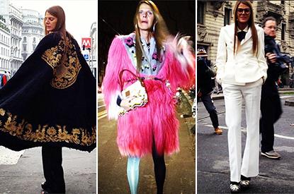 Runway to Anna Dello Russo: The Fashion Editor Wears Head-To-Toe Designer Looks In Milan