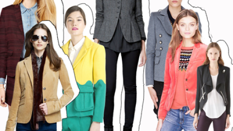 Shop It Right Now: 20 Updated Blazers In Cool Colors and Chic Shapes | StyleCaster