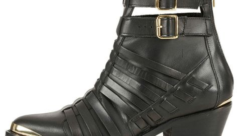 Want: A Pair Of Seriously Edgy Ankle Boots To Carry Us Through Spring | StyleCaster