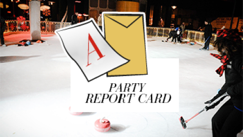 Party Report Card: Veuve Clicquot Hosts a Skating and Curling Soiree at The Standard | StyleCaster