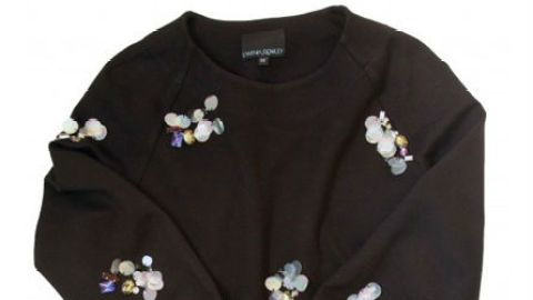 Want: A Super-Chic Embellished Sweatshirt From Cynthia Rowley | StyleCaster