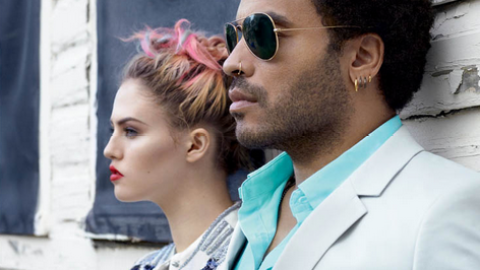 Dissecting the Campaign: Lenny Kravitz and Charlotte Free's Eleven Paris Advertisement   StyleCaster
