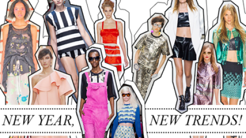 Straight From The Runway: 10 Wearable Trends To Try in 2013   StyleCaster