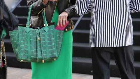 Street Style: The Chicest, Coolest, and Wildest Bags at Fashion Week | StyleCaster