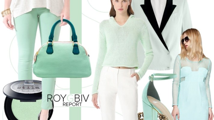 ROYGBIV Report: Mint Green is Spring's Sweetest Shade