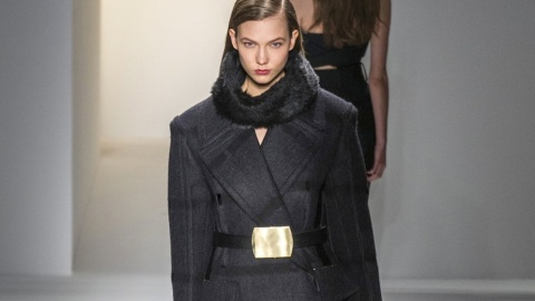 All the Looks: Calvin Klein's Structured, Modern Fall 2013 Collection | StyleCaster