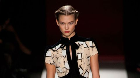 All The Looks: Carolina Herrera's Refined Fall 2013 Collection | StyleCaster
