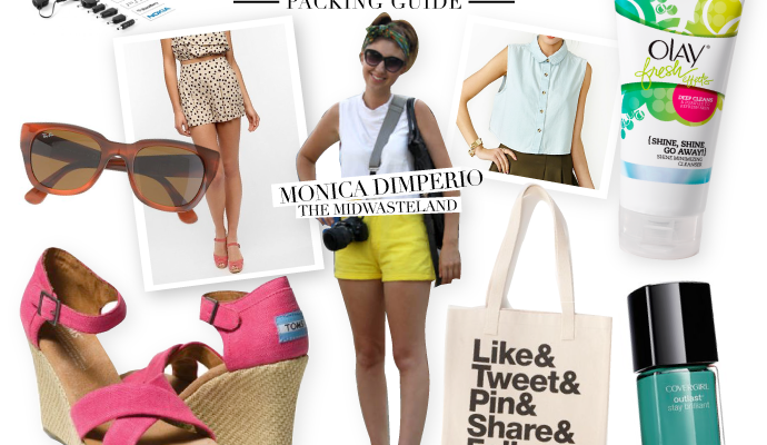 Ultimate SXSW Packing Guide with Blogger Monica Dimperio