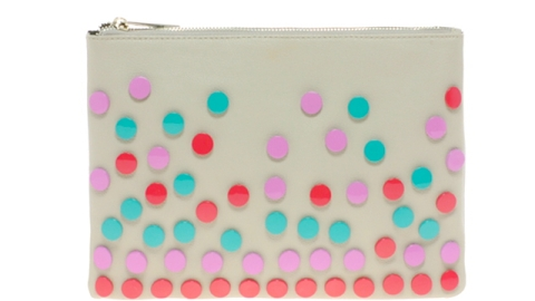 Want: An Oversized Pouch With Cheerful Enamel Confetti   StyleCaster