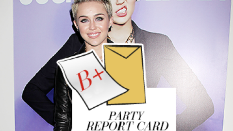 Party Report Card: Miley Cyrus Celebrates Her Cosmopolitan Cover At Acme | StyleCaster