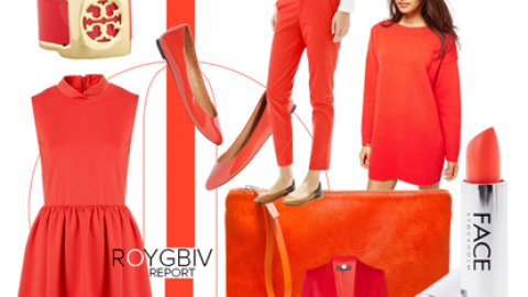 ROYGBIV Report: Juice Up Your Wardrobe With Chic Blood Orange Pieces | StyleCaster