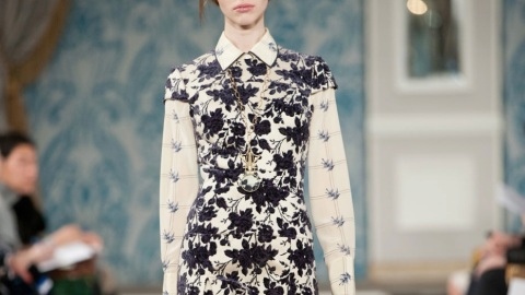 All the looks: Tory Burch's rich, refined Fall 2013 collection | StyleCaster