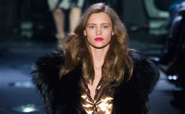All The Looks: Diane Von Furstenberg's Glamorous 1970s-Inspired Fall Collection