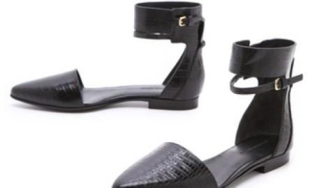 Want: Alexander Wang's Croc-Stamped Elsa Flats   StyleCaster