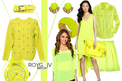 ROYGBIV Report: Make A Statement In Neon Yellow
