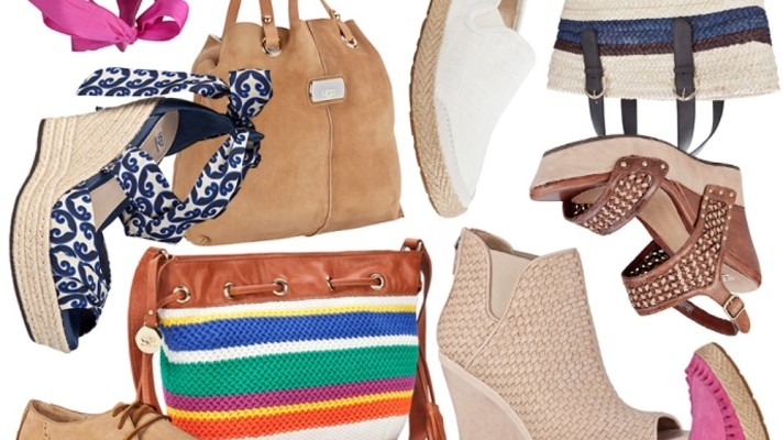 Trend Spotting: The Exotic Espadrille for Spring