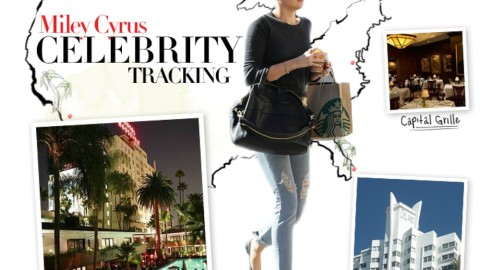 Celebrity Tracking: Where Miley Cyrus Eats, Sleeps, and Shops Around America | StyleCaster