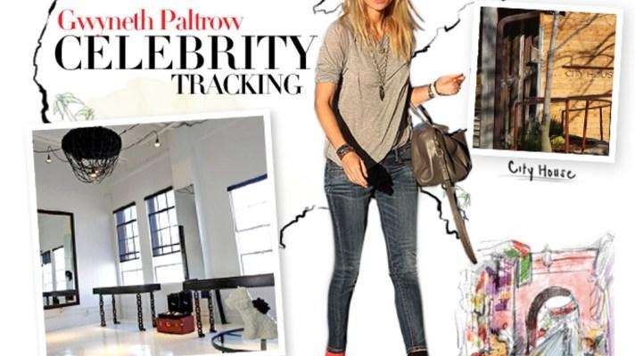 Celebrity Tracking: Where Gwyneth Paltrow Eats, Sleeps, and Shops Around the Globe