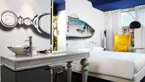Stuff We Love: High-Tech Hotel Andaz Amsterdam Is A Hit | StyleCaster