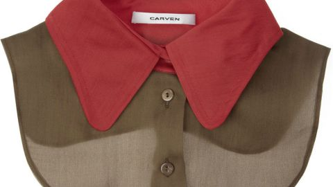 Want: A Cool Silk Collar To Layer Under Your Favorite Spring Pieces | StyleCaster