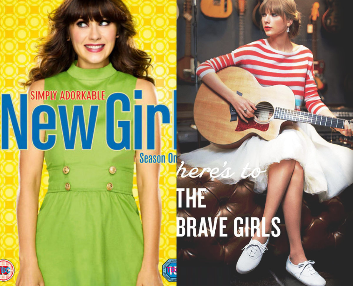 collage13 Taylor Swift To Guest Star On New Girl Season Finale