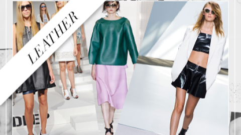 Shop It Right Now: Warm-Weather Leather | StyleCaster