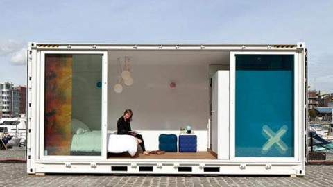 Stuff We Love: From Shipping Container to Traveling Luxury Hotel | StyleCaster
