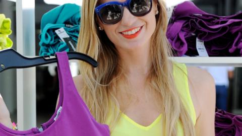 Spring Break Spirit at the Miami Express Pop-Up Shop | StyleCaster
