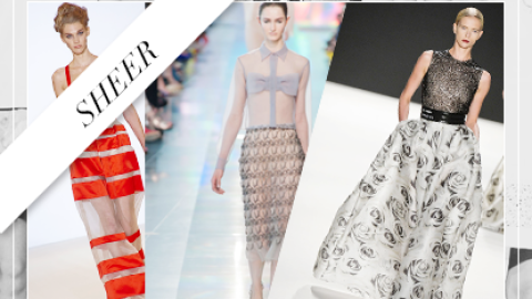 Spring Essential: Chic Sheer Pieces | StyleCaster