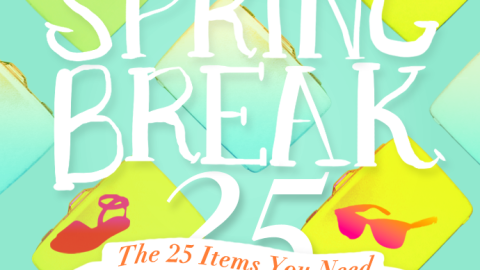 Spring Break Packing List: The Only 25 Items You Need To Bring (All At $100 Or Less!)   StyleCaster