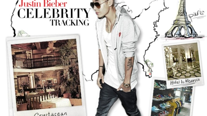 Celebrity Tracking: Where Justin Bieber Eats, Sleeps, and Parties Around the Globe