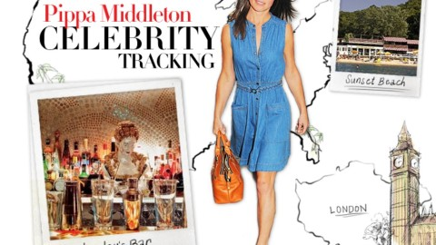 Celebrity Tracking: Where Pippa Middleton Parties, Eats, and Skis Around the Globe | StyleCaster