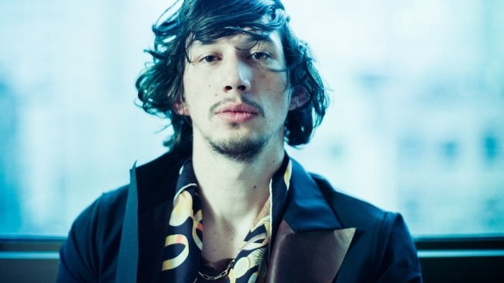 'Girls' Star Adam Driver Wears Hermès Scarf and Garters For Flaunt Magazine