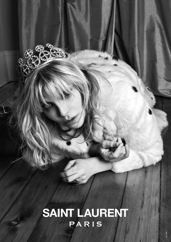 1034340 Courtney Love Stars In The Latest Saint Laurent Campaign
