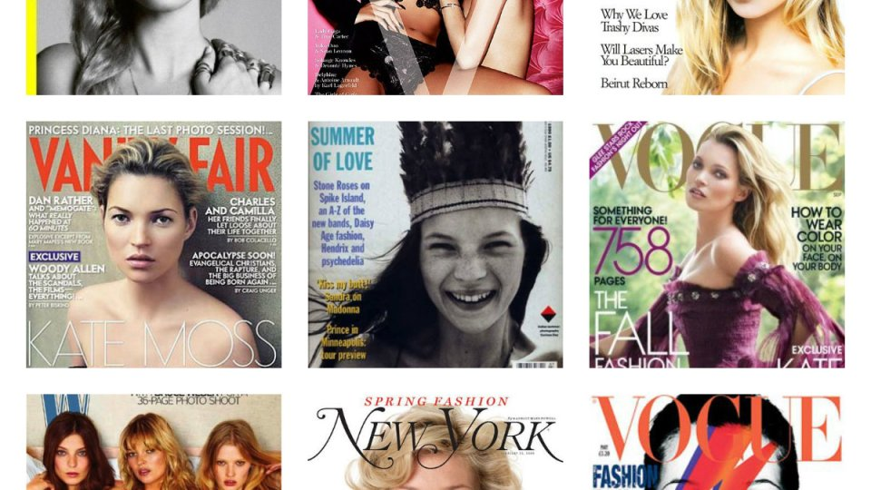 Kate Moss' 15 Most Iconic Magazine Covers | StyleCaster