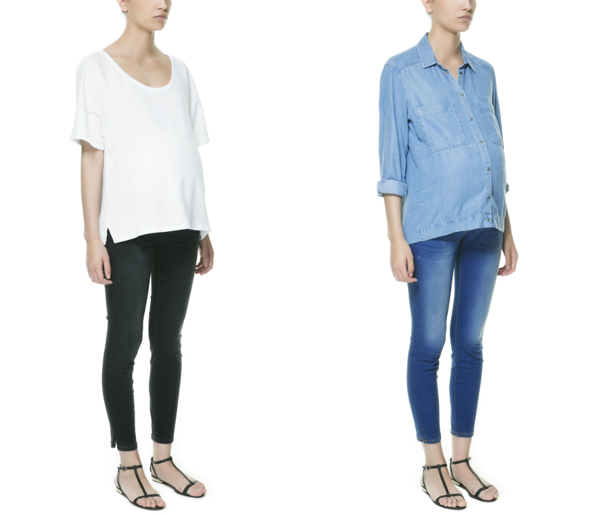 Attention Pregnant Shoppers Zara Adds Maternity Section To Website Stylecaster