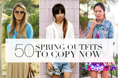 50 Spring Outfits to Copy Right Now